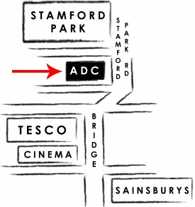 Altrincham Dry Cleaners Map